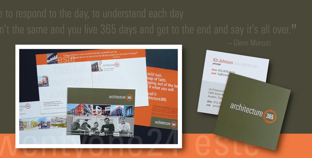 DesignCode : Brand Identity : archcitecture365 : Gallery 2