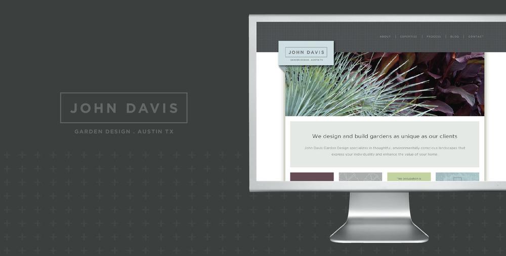 DesignCode : Brand Identity : John Davis Garden Design : Gallery 1