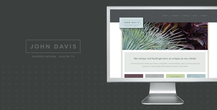 designcode brand identity john davis garden design gallery 1