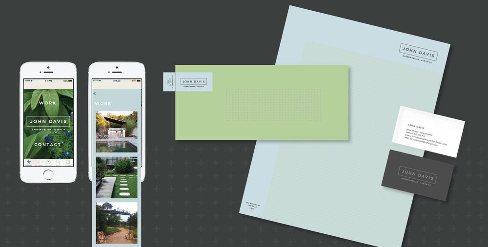 DesignCode : Brand Identity : John Davis Garden Design : Gallery 2