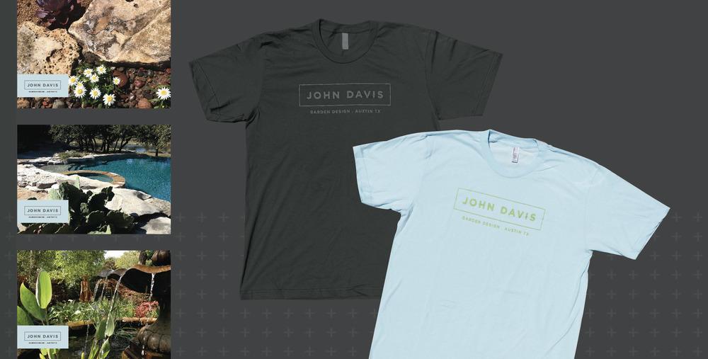 DesignCode : Brand Identity : John Davis Garden Design : Gallery 3