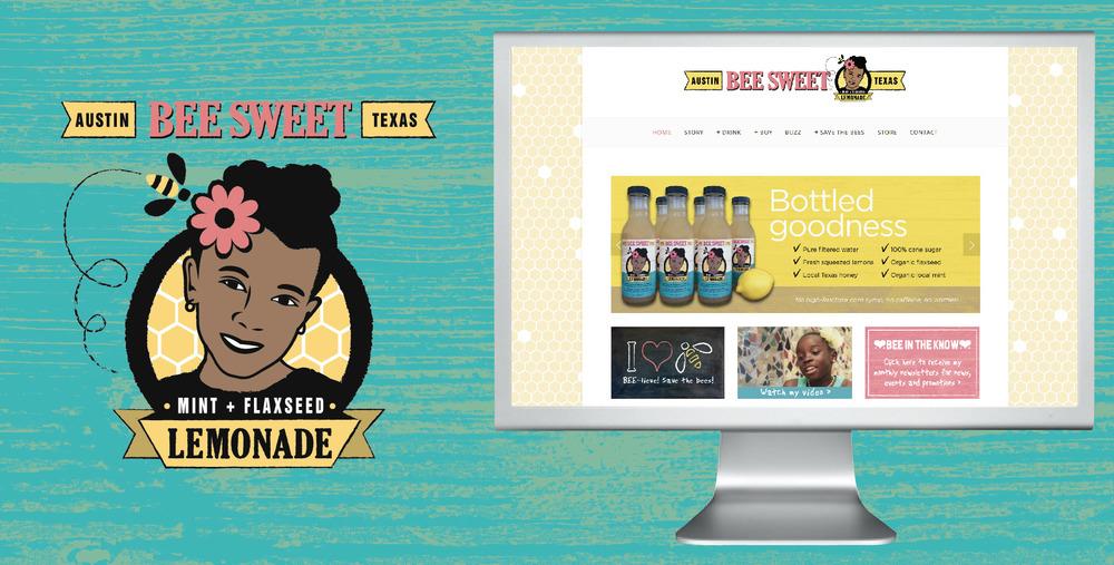 DesignCode : Brand Identity : BeeSweet Lemonade : Gallery 1