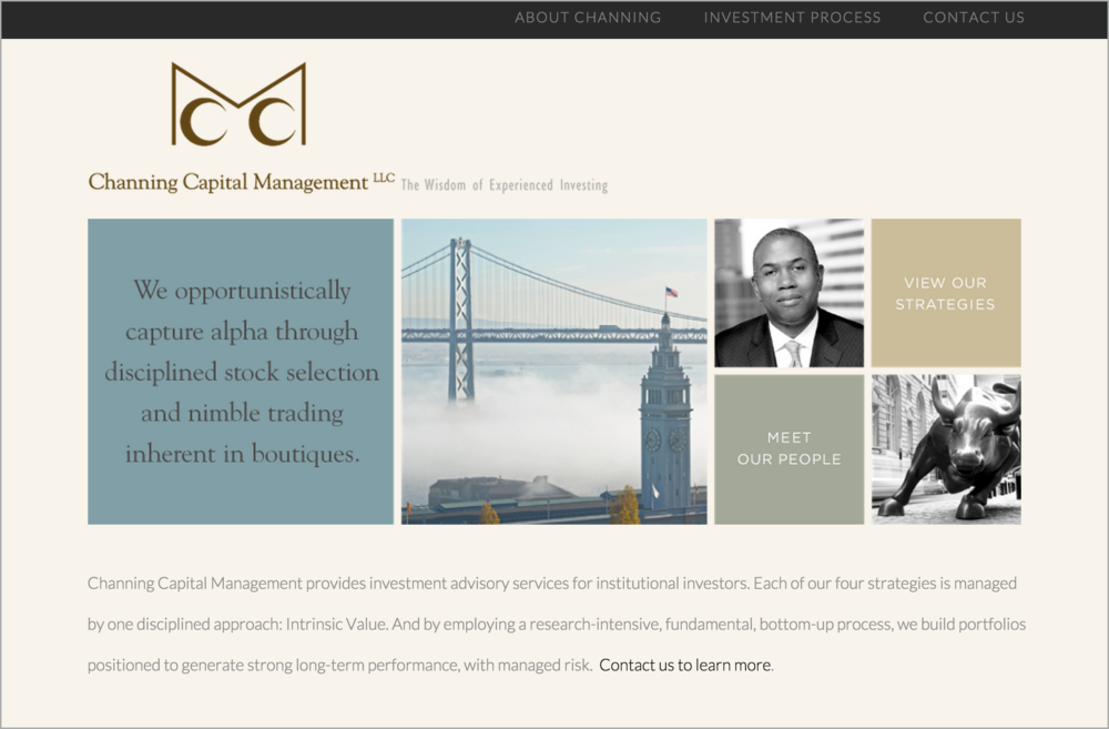 Channing Capital Management Website Design | DesignCode | Austin, Texas
