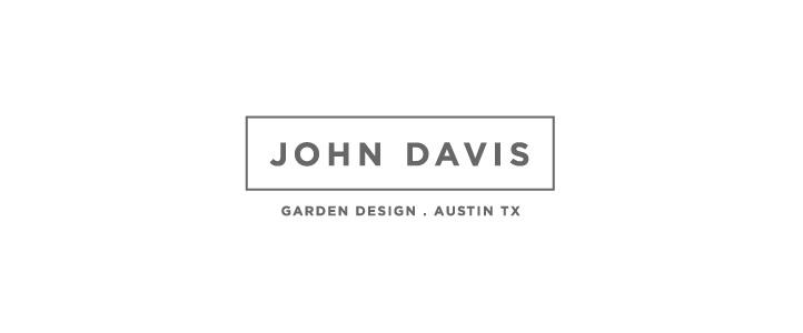 John Davis Garden DesignLogo Design  | DesignCode | Austin, Texas