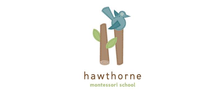 Hawthorne Montessori SchoolLogo Design  | DesignCode | Austin, Texas