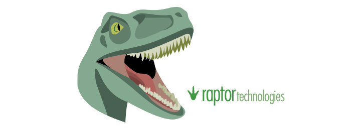 Illustration Design of a T-Rex for Raptor Technologes | DesignCode | Austin, Texas