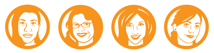 Illustration Design of women in technology (AWTA) for Website   | DesignCode | Austin, Texas