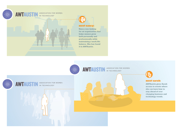 Illustration Design for women in technology (AWTA) Website | DesignCode | Austin, Texas