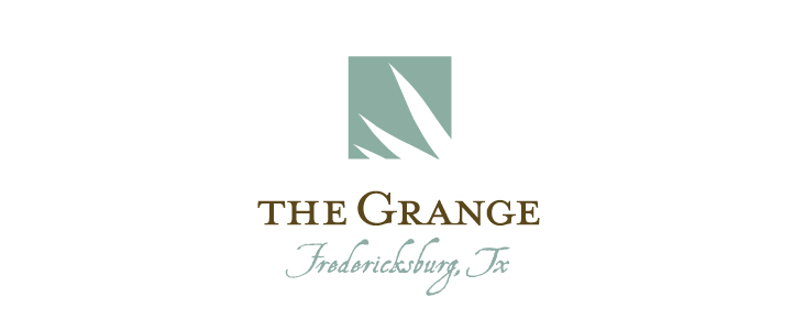 The Grange FredericksburgLogo Design  | DesignCode | Austin, Texas