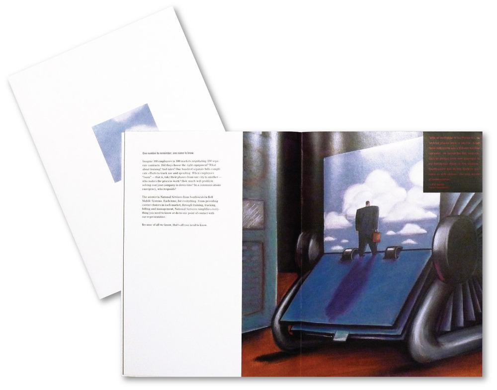 Southwestern Bell Brochure Design  | DesignCode | Austin, Texas