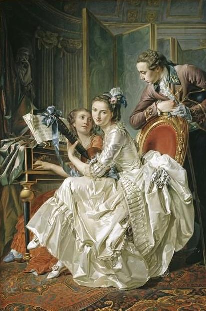 Louis-Roland Trinquesse,  Conversation Musicale