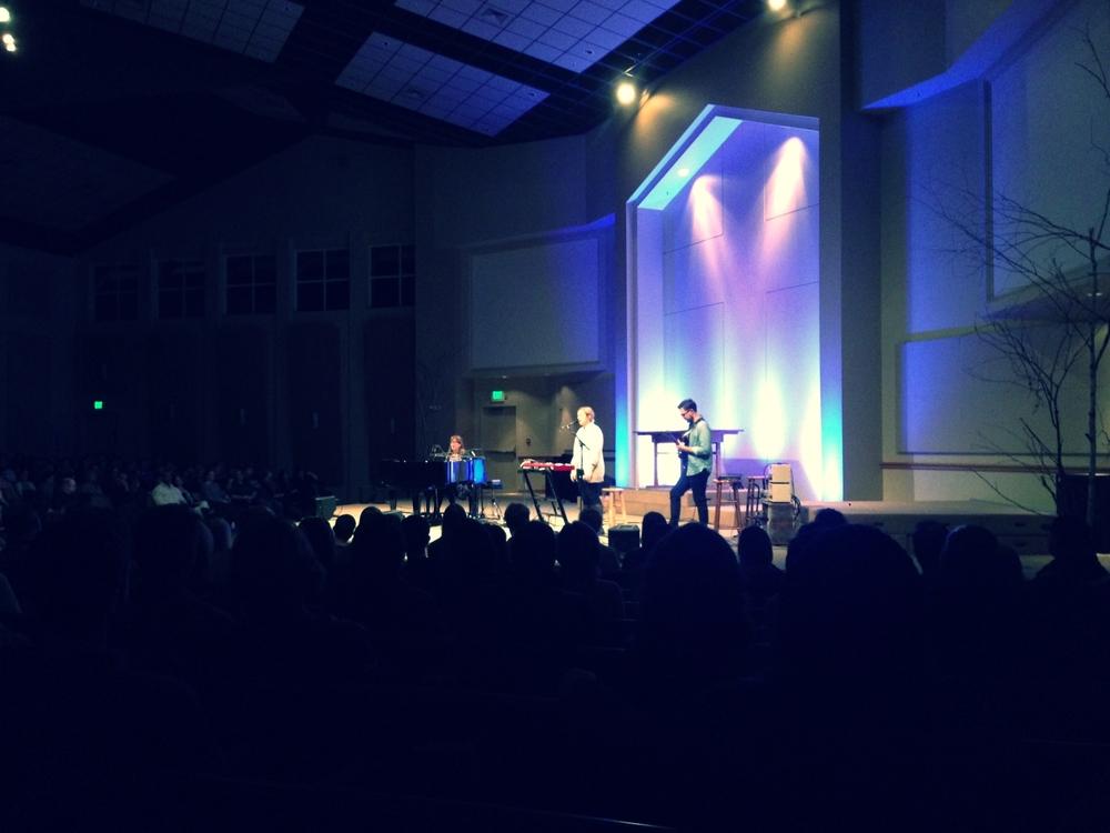 Sara Groves, Melody Olson, and Dan Phelps @ Sammamish Presbyterian Church