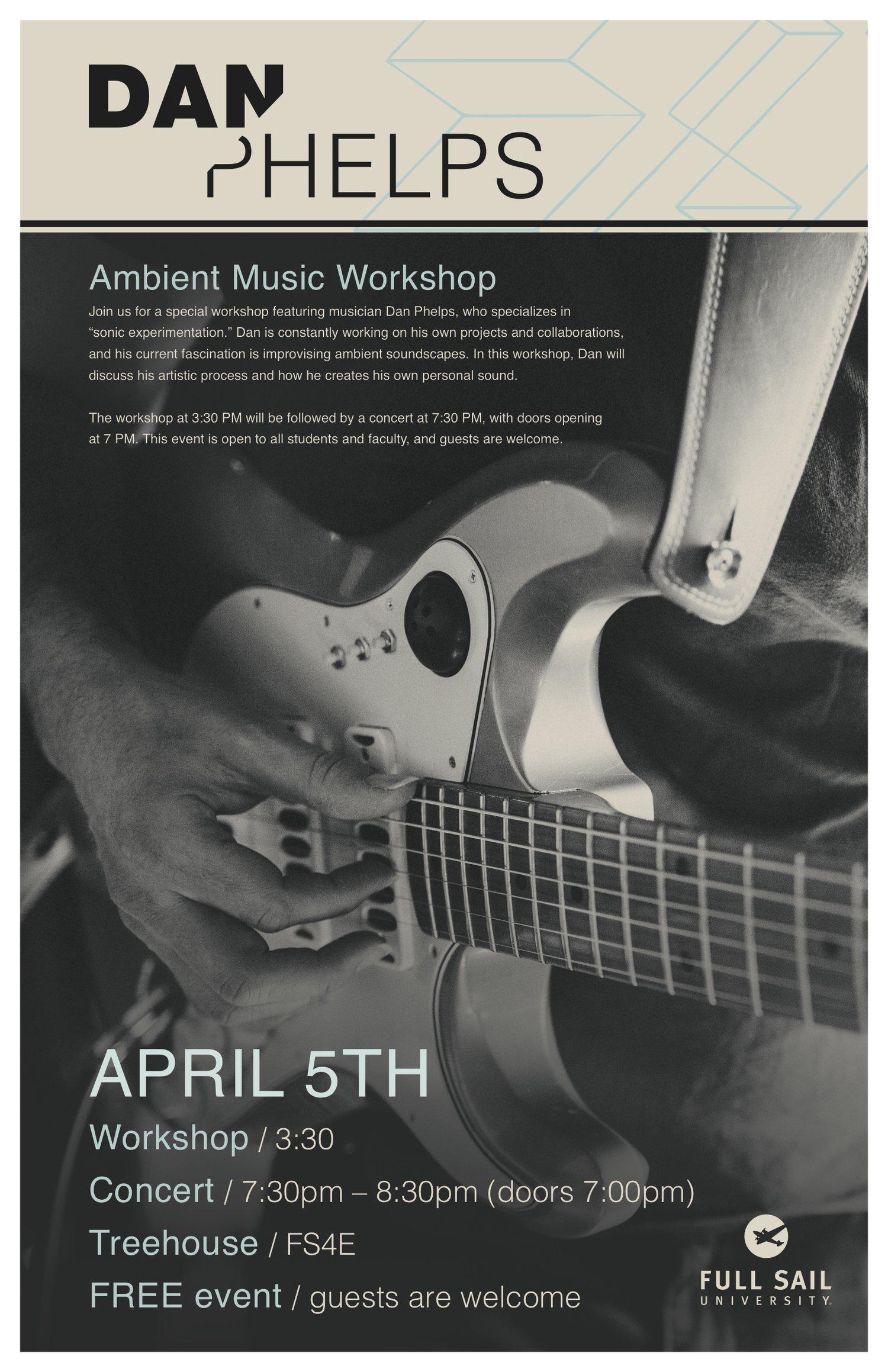 Orlando, FL - Workshop and Concert — Dan Phelps