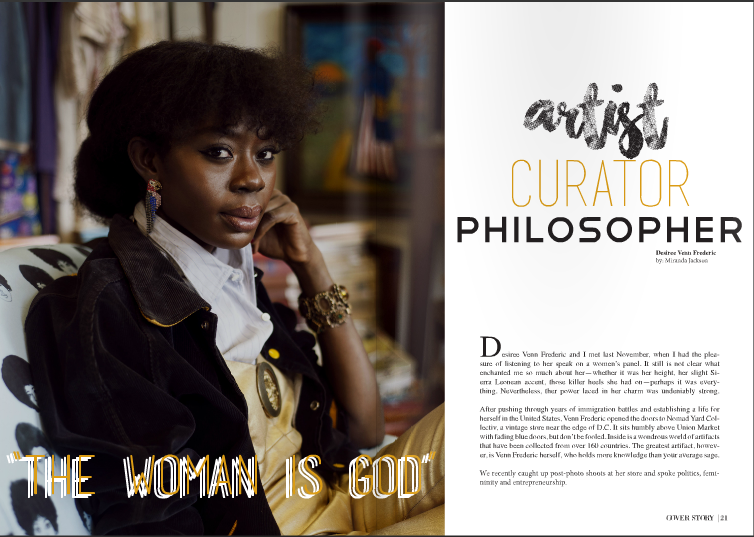 'the woman is god' an exclusive interview with university of maryland's miranda jackson for   m magazine