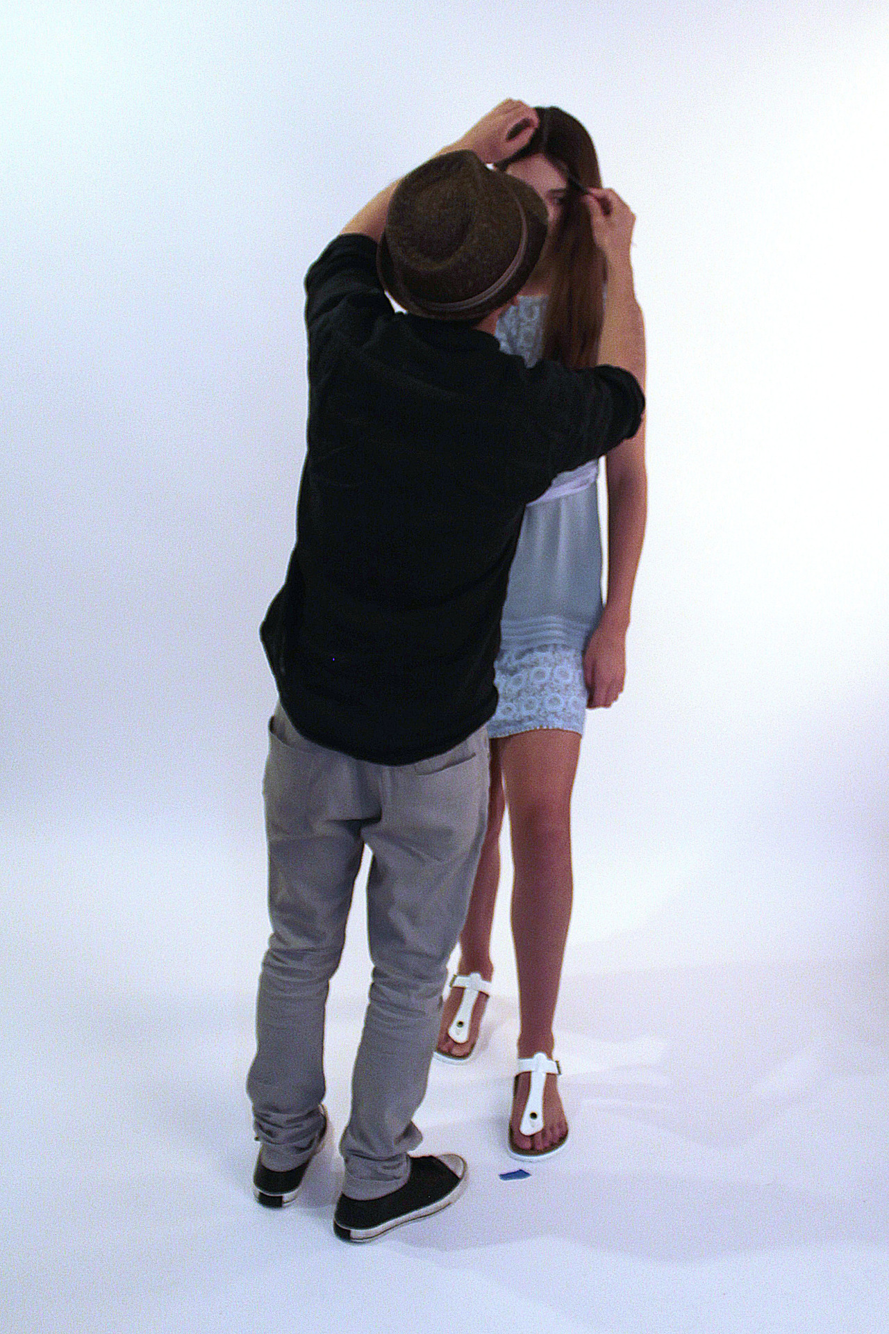 Here's another behind the scenes shot from our new collection!