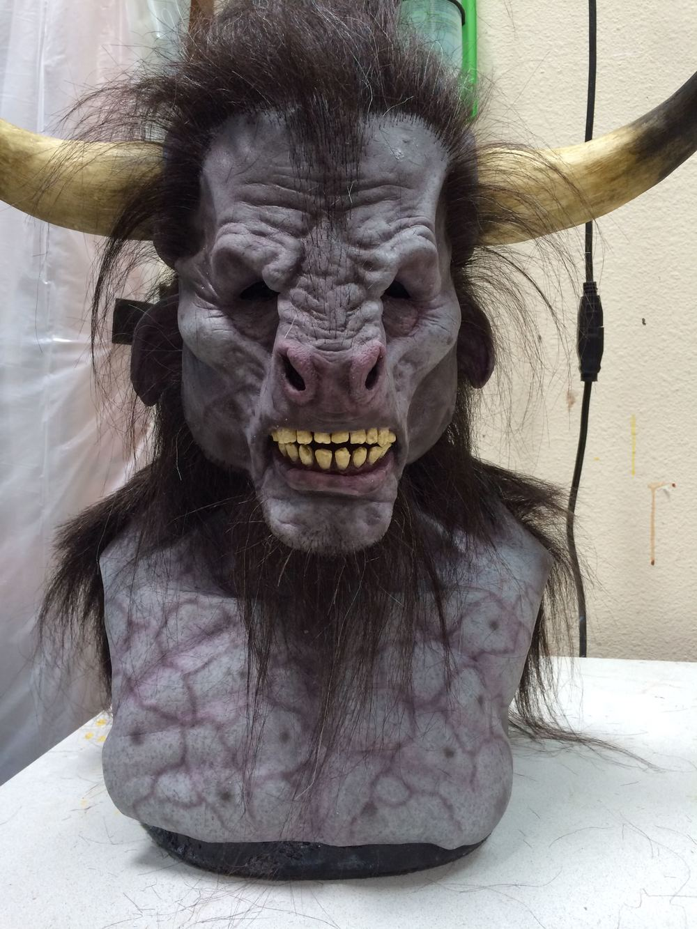 Minotaur - by Immortal Masks