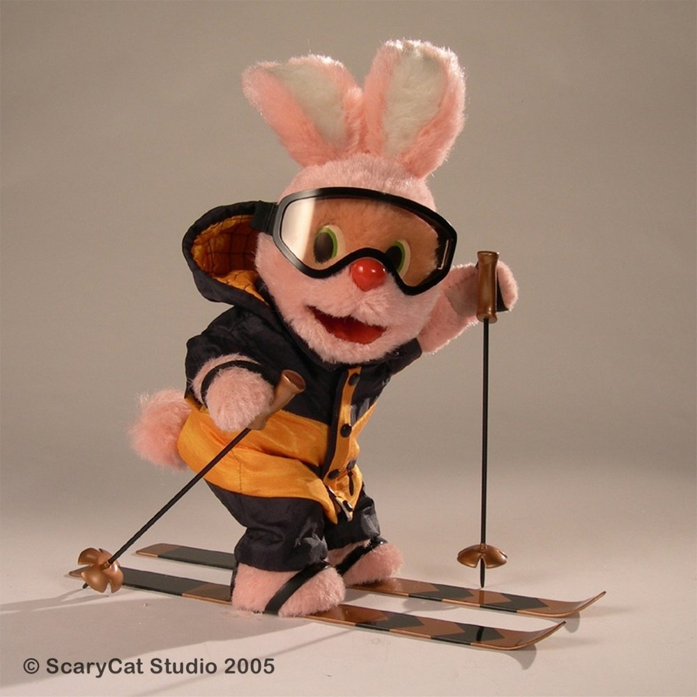 Duracell Bunny made by Scary Cat Studios UK