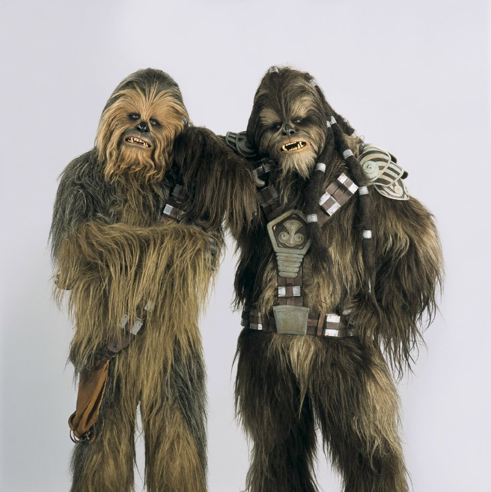 Wookies. Chewbacca and Tarrful Revenge of the Sith by JAK Productions