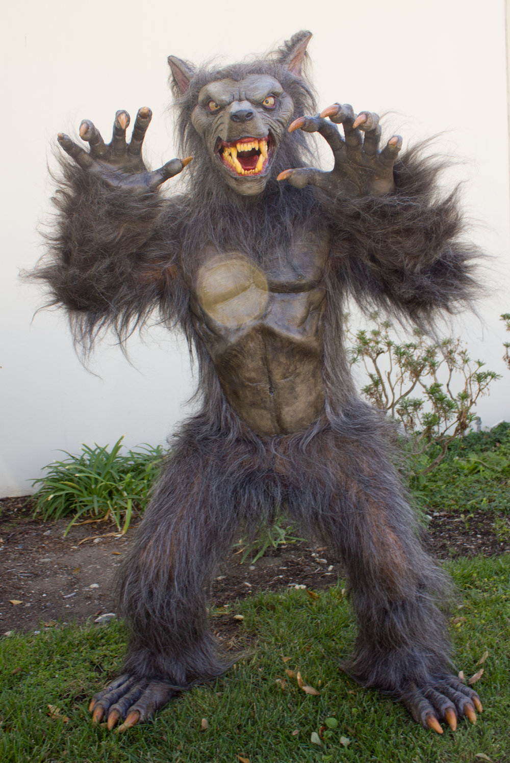 Werewolf for Universal Halloween Horror Nights, Singapore. By Total Fabrications