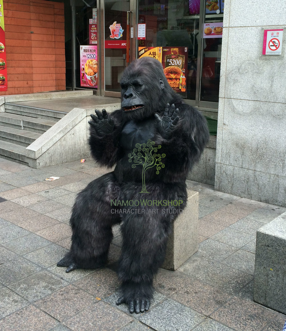Gorilla by Namoo Workshop
