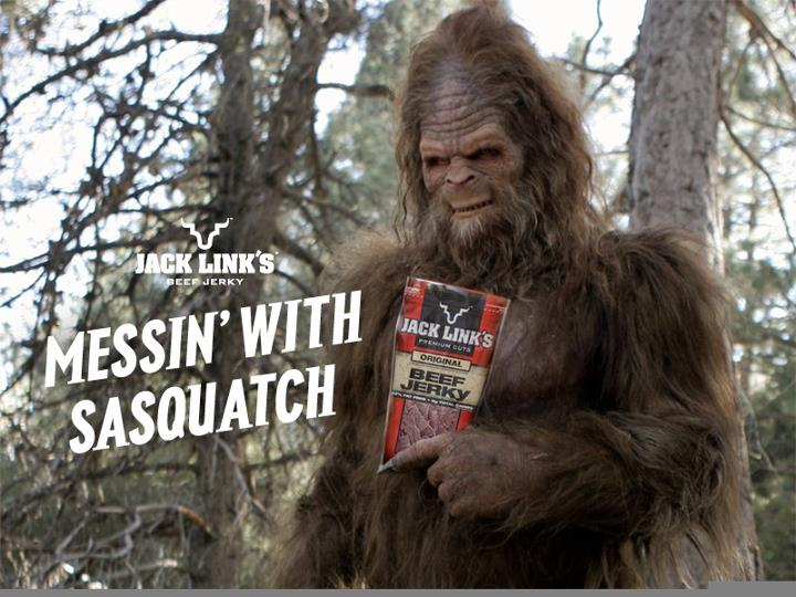 Sasquatch! For Jack Links Beef Jerky - Legacy FX