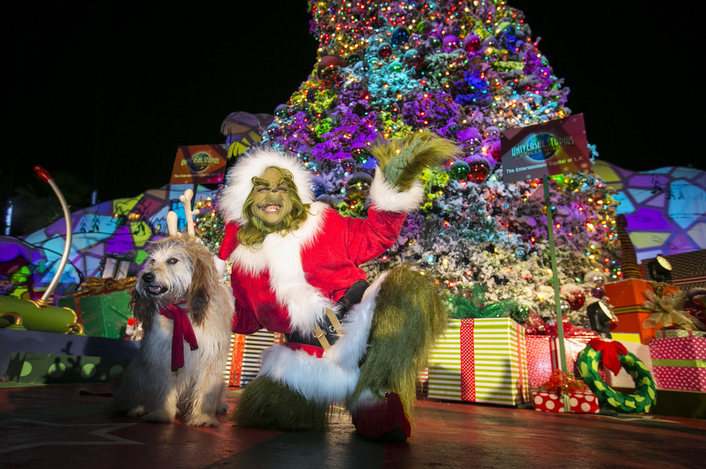 """Grinchmas"" - The Grinch and Max - Universal Studios"