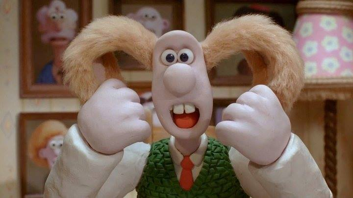 Wallace and Gromit, The Curse of the Were-Rabbit. Fabricated by Aardman Animations