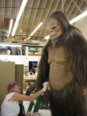 "Building Bigfoot suit for ""Strange Wilderness"" Movie - Darnell Shepherd and Almost Human SPFX Studio"