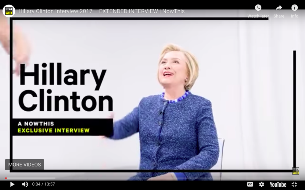 Hillary Clinton: The NowThis Exclusive Interview