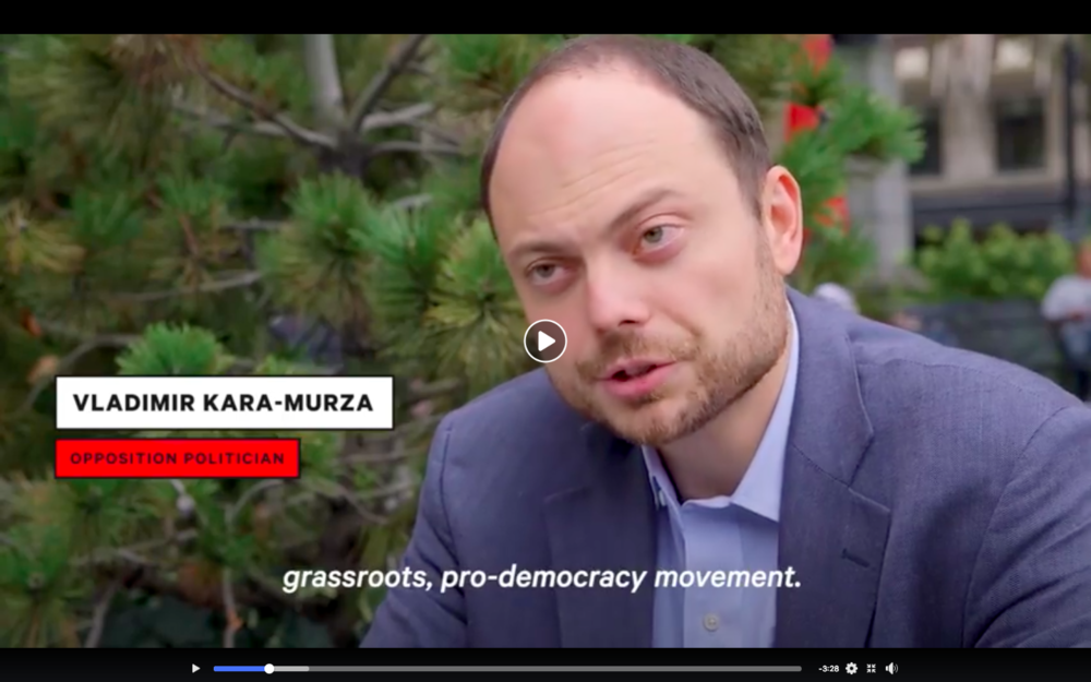 The Russia Desk: Kara-Murza's Thwarts Assassination