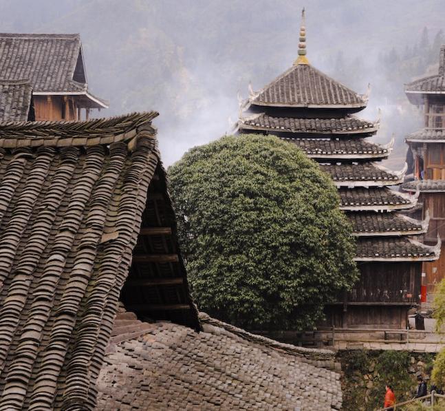 Sanjiang Village, Sanjiang, Guangxi, China