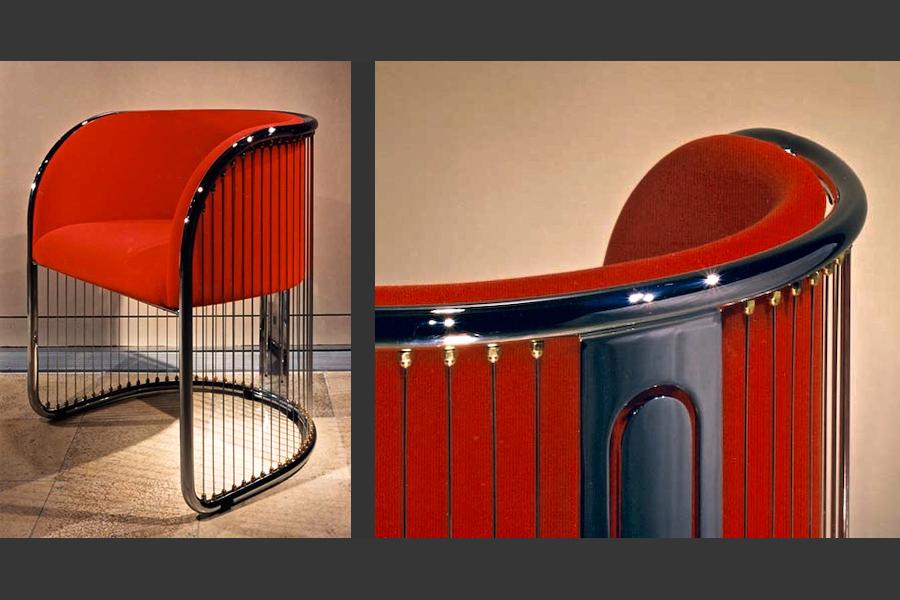 Eppich Dining Chair Prototype, Arthur Erickson