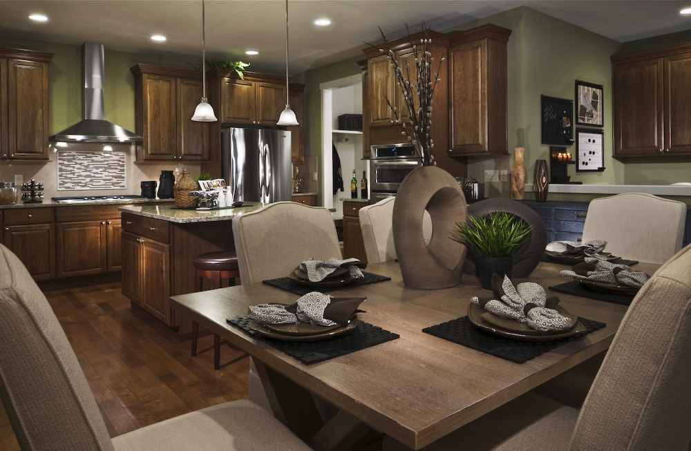 Model Home Kitchen and Dining