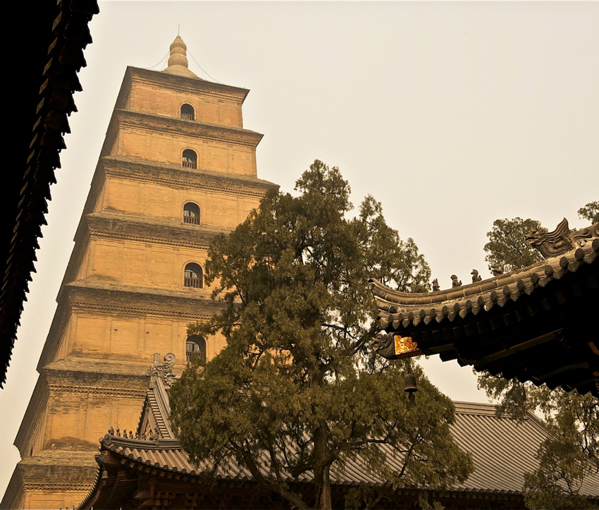Big Goose Pagoda, Xi'an, Shaanxi, China