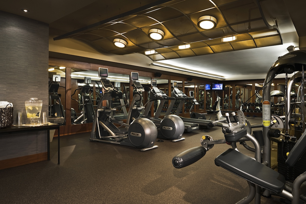Fitness Center, Heathman Hotel, Kirkland, WA, USA