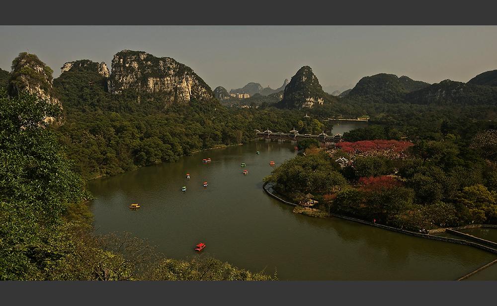 Longtan Park, Liuzhou, Guangxi, China