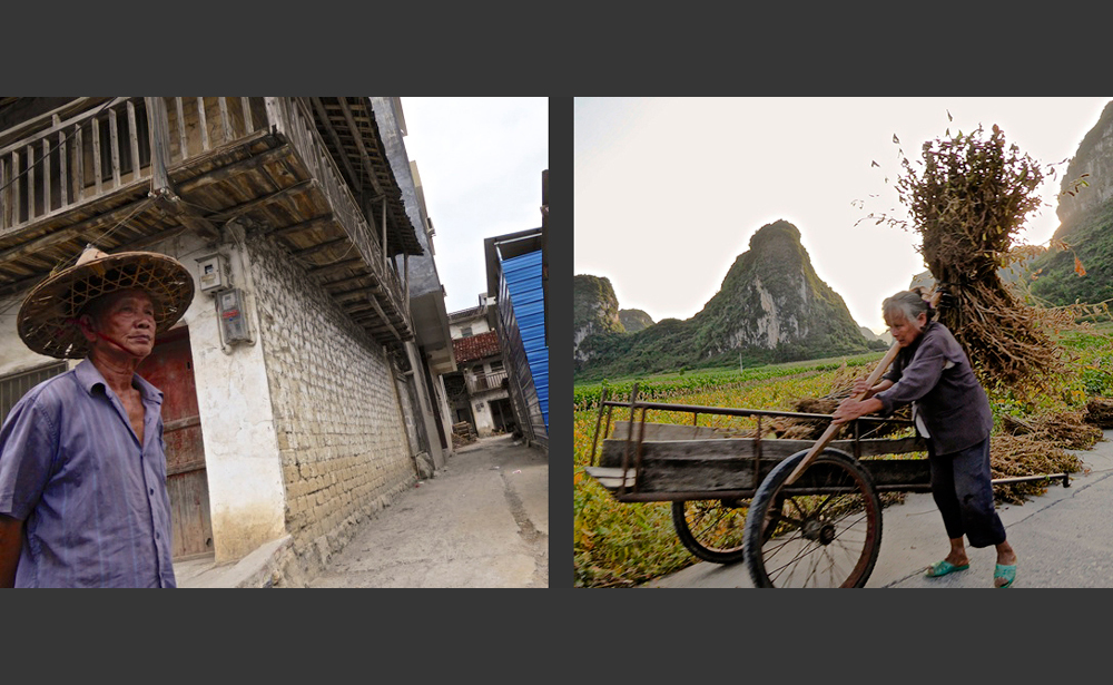 The people of Luocheng Village, Luocheng, Guangxi, China