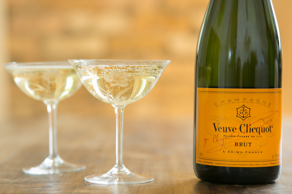 vintage champagne coups