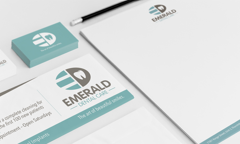 Emerald Dental | Logo | Thornhill, ON