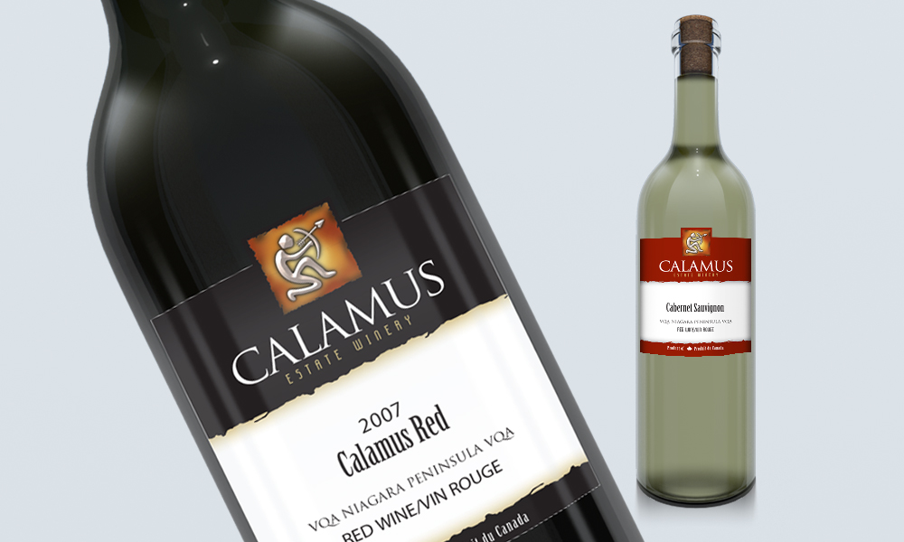 Calamus Estate Winery | Logo/Labels | Jordan Station, ON