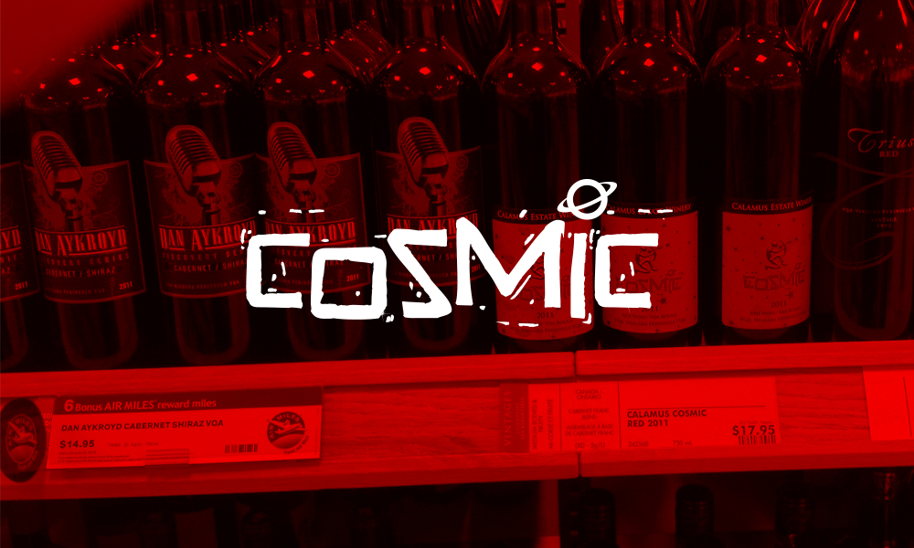 Calamus Estate Winery, Cosmic | Logo/Labels | Jordan Station, ON