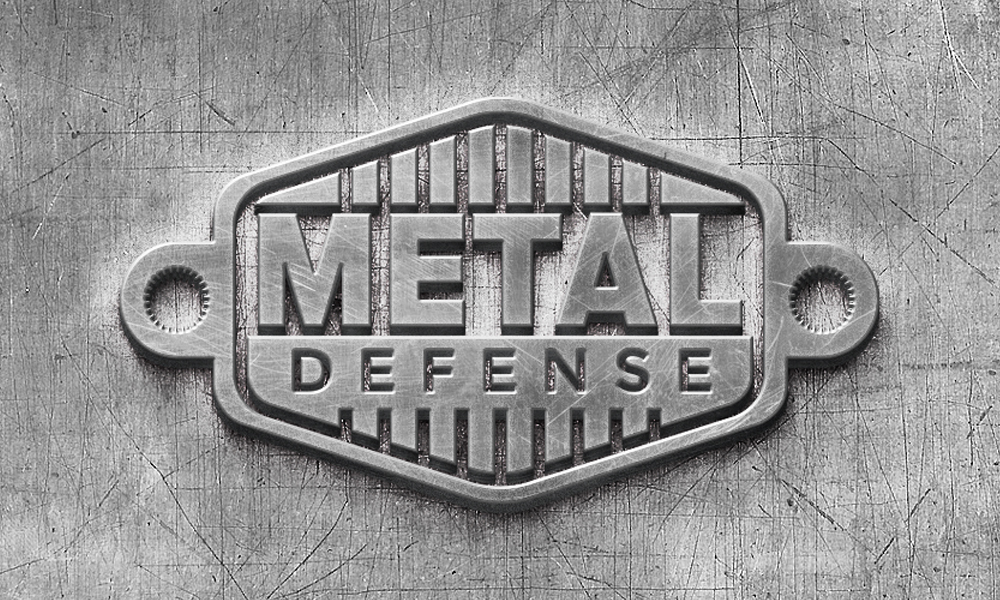 Metal Defense | Logo