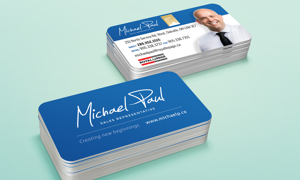 Michael Paul | Logo | Oakville, ON