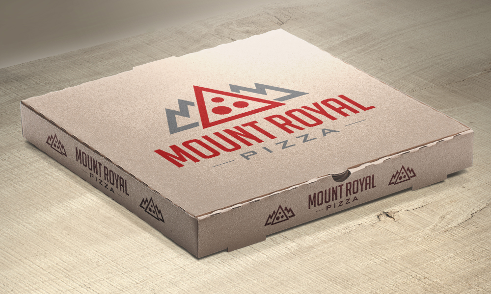 Mount Royal Pizza | Logo | Burlington, ON