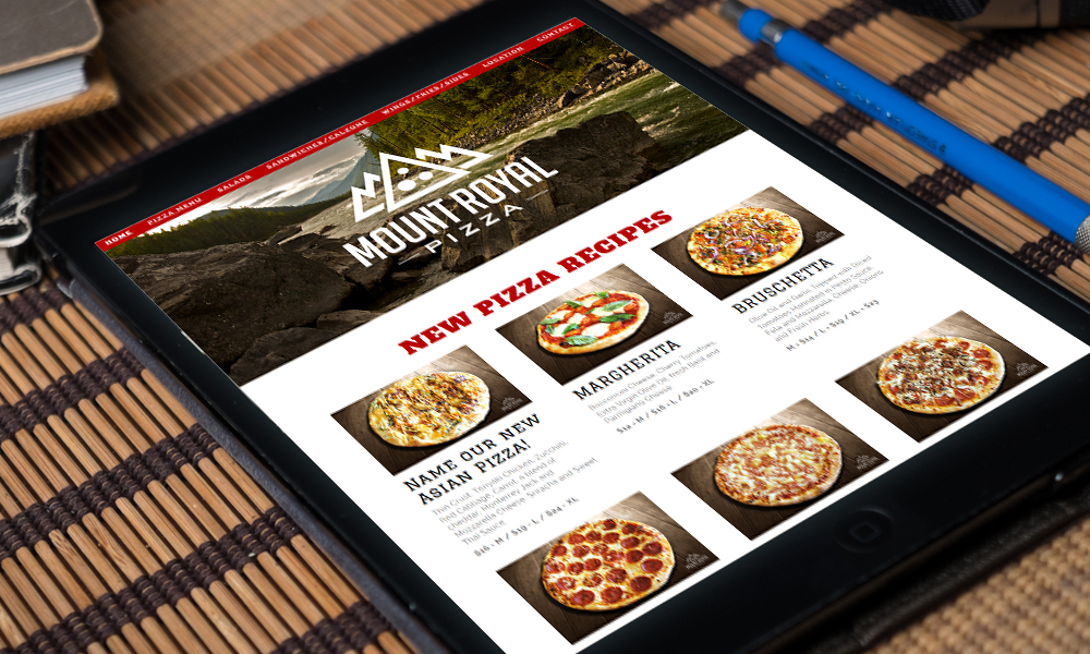 Mount Royal Pizza | Website | Burlington, ON