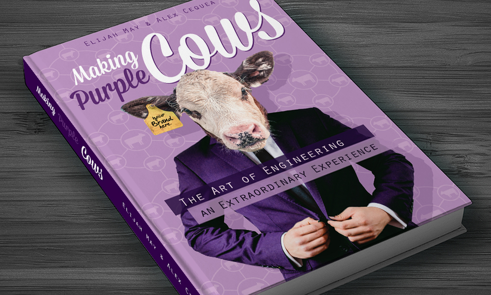 Making Purple Cows | Book Cover | Austin, TX