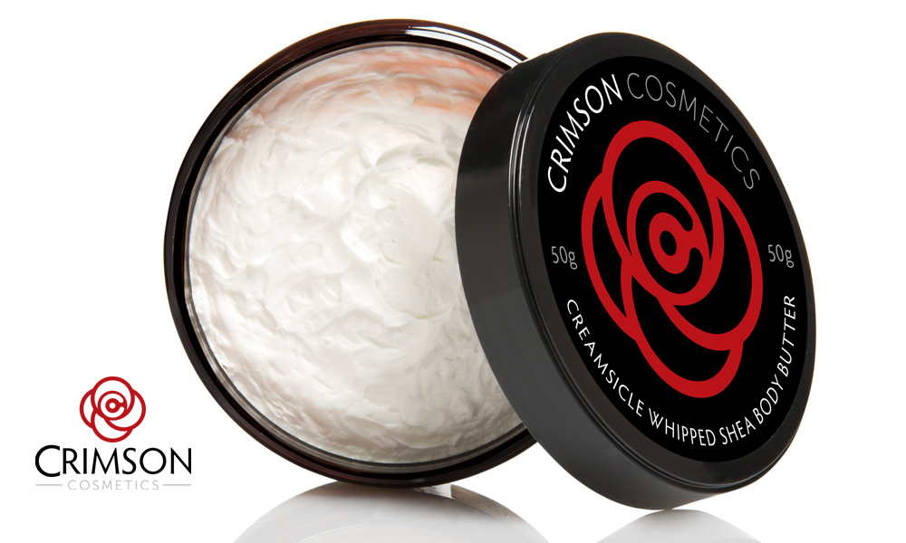 Crimson Cosmetics | Logo - Packaging | Orangeville, ON