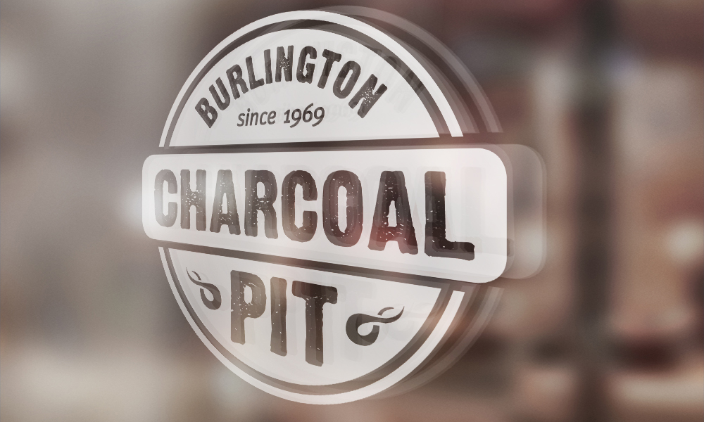 Charcoal Pit | Logo | Burlington, ON