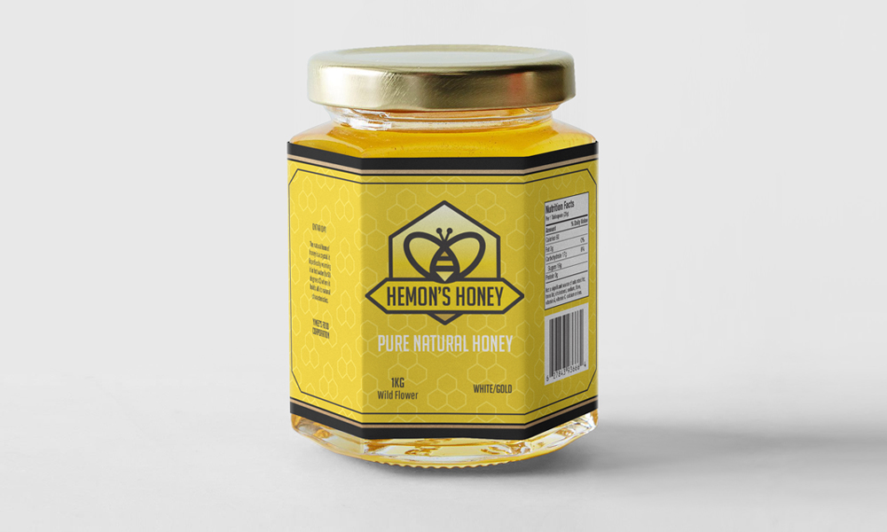 Hemon's Honey | Packaging | Oakville, ON