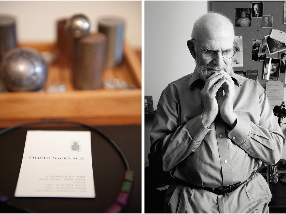 Dr. Oliver Sacks for Chuokoron, Japan